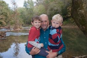 Grandpa and boys